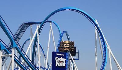 Cedar Park Photograph - Welcome To Cedar Point by Dan Sproul