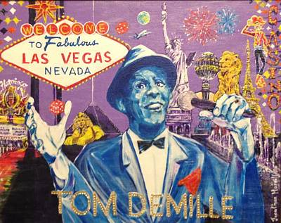 Welcome To Fabulous Tom Demille Original by Jonathan Morrill