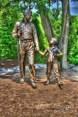 Andy Griffith Show Digital Art - Welcome To Mayberry by Dan Stone