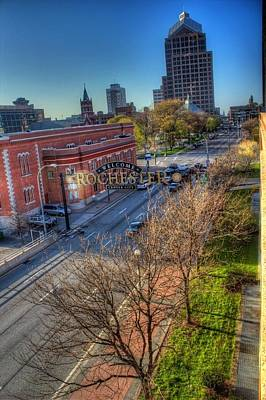 Tim Buisman Photograph - Welcome To Rochester by Tim Buisman
