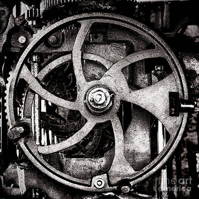 Machinery Photograph - Welcome To The Machine by Olivier Le Queinec