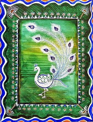 Welcoming Rain Print by Anjali Vaidya