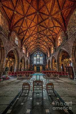 Welsh Cathedral  Print by Adrian Evans