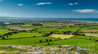 Field Digital Art - Welsh Landscape by Adrian Evans