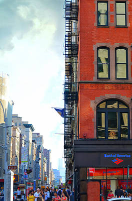 Chelsea Photograph - West 23rd Street by Laura Fasulo