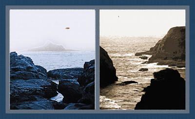 West Coast Scenes Diptych 2 Print by Steve Ohlsen