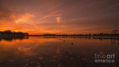 Marina Del Rey Photograph - West Coast Sunrise  by Rob Hawkins