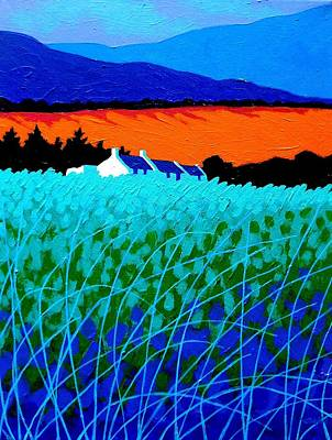 Print Card Painting - West Cork Landscape by John  Nolan