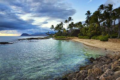 Ko Olina Lagoon Photograph - West Oahu Beauty by James Crawford