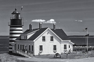 Quoddy Head State Park Photograph - West Quoddy Head Light II by Clarence Holmes