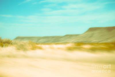Squint Photograph - West Texas Blur by Sonja Quintero