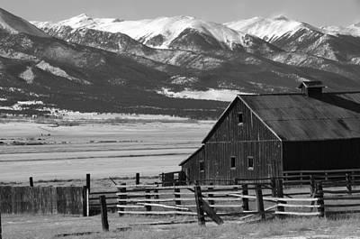 Westcliffe Colorado Print by Jerry Mann