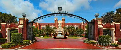 Florida State Digital Art - Westcott Gateway Arch - Fsu by John Douglas