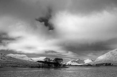 Munroe Photograph - Wester Ross Winter  by Derek Beattie