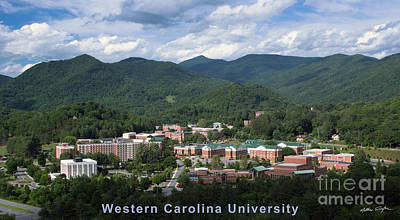 Western Carolina University Summer Print by Matthew Turlington