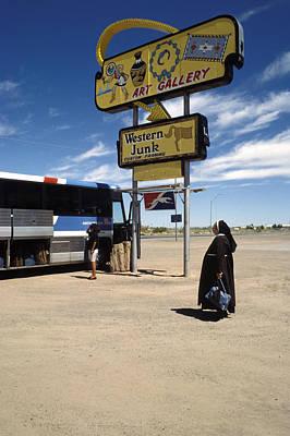 Greyhound Photograph - Western Junk by Elena Bouvier