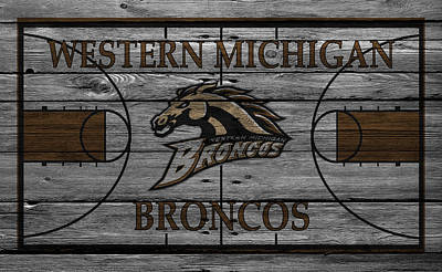 March Photograph - Western Michigan Broncos by Joe Hamilton