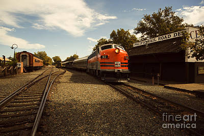 Caboose Photograph - Western Pacific 2 by Cheryl Young