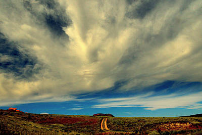 Thermopolis Photograph - Western Roads.. by Al  Swasey