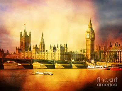 Westminster Abbey Digital Art - Westminster 2 by Heidi Hermes