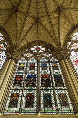 Westminster Abbey Chapter House 2 Print by John Daly
