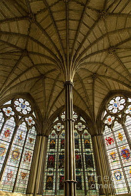 Westminster Abbey Chapter House Print by John Daly