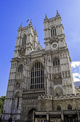 Westminster Abbey Photograph - Westminster Abbey. by Fernando Barozza