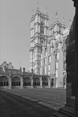 Westminster Abbey Digital Art - Westminster Abbey Lodnon by Maj Seda