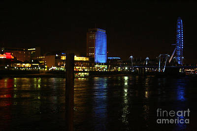 Financial Mixed Media - Westminster At Night by Doc Braham