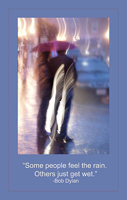 Bob Dylan Digital Art - Wet by Rick Mosher