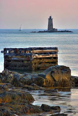 Whaleback Lighthouse Print by Brett Pelletier