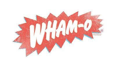 Hacky Sack Digital Art - Whamo - Distressed Logo by Brand A