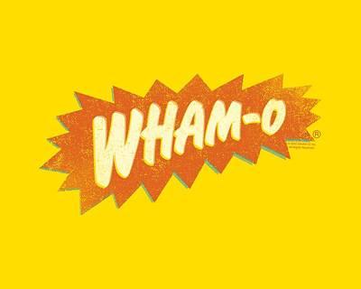 Hacky Sack Digital Art - Whamo - Distressed Whamo by Brand A