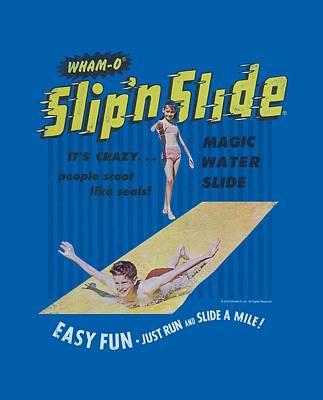Hacky Sack Digital Art - Whamo - Slip N Slide Ad by Brand A