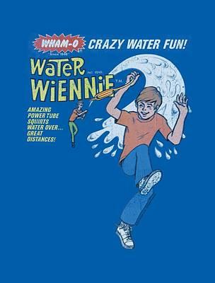 Hacky Sack Digital Art - Whamo - Water Wiennie Ad by Brand A