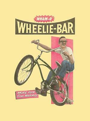 Hacky Sack Digital Art - Whamo - Wheelie Bar Ad by Brand A