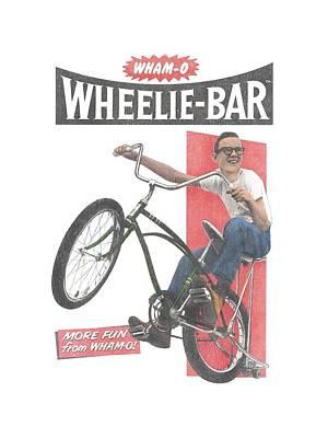 Hacky Sack Digital Art - Whamo - Wheelie Bar by Brand A