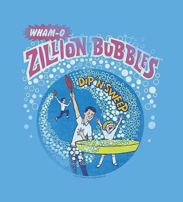Hacky Sack Digital Art - Whamo - Zillion Bubbles by Brand A
