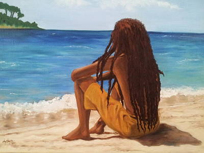 Jamaican Art Painting - What Am I Longing For by Joyce Hayes
