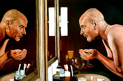 Portraits Painting - What Now? by Tom Roderick