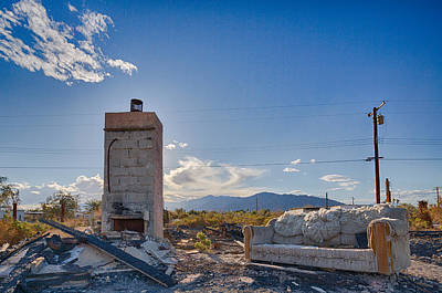 Wildfire Photograph - What Once Was by Scott Campbell