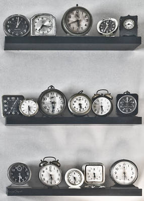 Steampunk Photograph - What Time Is It by Sharon Popek