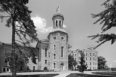 Universities Photograph - Wheaton College Blanchard Hall by University Icons