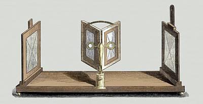 Wheatstone's Reflective Stereoscope Print by Sheila Terry