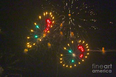 Fire Works Digital Art - Wheel  by Robert Pearson