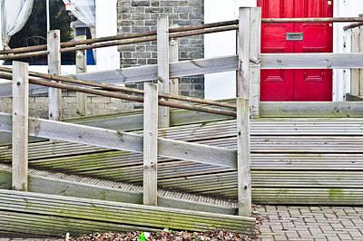 Overcoming Photograph - Wheelchair Ramp by Tom Gowanlock
