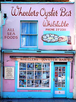 Wheelers Oyster Bar Print by Mark Rogan