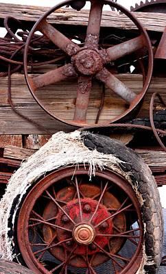 Fair Photograph - Wheels Of Misfortune by Joe Kozlowski