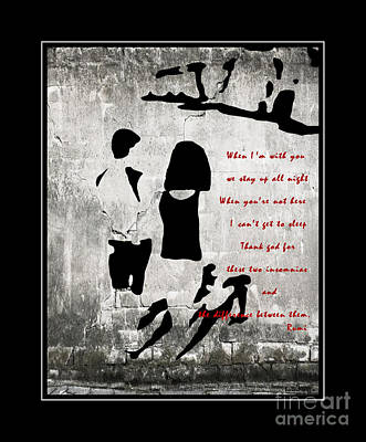When I'm With You Print by Barbara Griffin