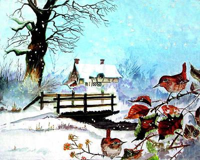 When It Snows Print by Farah Faizal